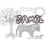 Jamil, coloriages Jamil
