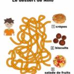 Jeux de labyrinthes sur les desserts
