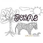 Jonas, coloriages Jonas