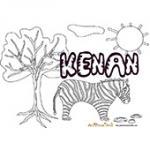 Kenan, coloriages Kenan