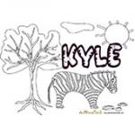 Kyle, coloriages Kyle
