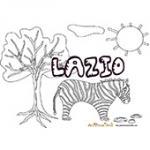 Lazio, coloriages Lazio