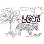 Leon, coloriages Leon
