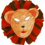 Un masque de lion