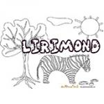 Lirimond, coloriages Lirimond