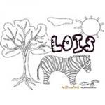 Lois, coloriages Lois