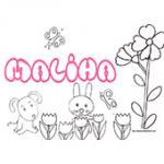 Maliha, coloriages Maliha