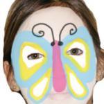 Explication du maquillage papillon pour enfants