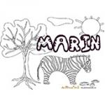 Marin, coloriages Marin