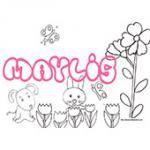 Maylis, coloriages Maylis