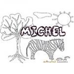 Michel, coloriages Michel