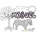 Miguel, coloriages Miguel
