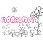 Morgandy, coloriages Morgandy
