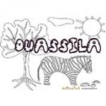 Ouassila, coloriages Ouassila