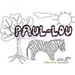Paul Lou, coloriages Paul Lou