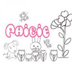 Phibie, coloriages Phibie