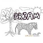 Priam, coloriages Priam