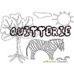 Quitterie, coloriages Quitterie