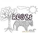 Regis, coloriages Regis