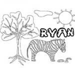 Ryan, coloriages Ryan