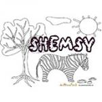 Shemsy, coloriages Shemsy