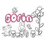 Sofia, coloriages Sofia