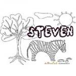 Steven, coloriages Steven