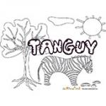 Tanguy, coloriages Tanguy