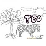 Teo, coloriages Teo