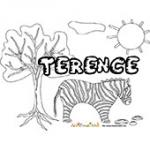 Terence, coloriages Terence