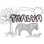 Thalya, coloriages Thalya