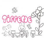 Tiffene, coloriages Tiffene