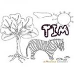 Tim, coloriages Tim