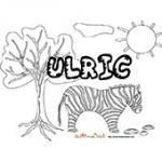 Ulric, coloriages Ulric