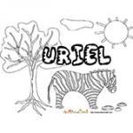 Uriel, coloriages Uriel