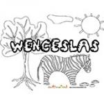 Wenceslas, coloriages Wenceslas