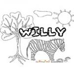 Willy, coloriages Willy