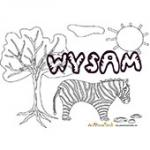 Wysam, coloriages Wysam