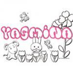 Yasmina, coloriages Yasmina