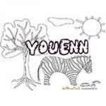 Youenn, coloriages Youenn