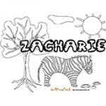 Zackaria, coloriages Zackaria