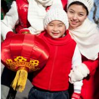 Marionnette de dragon chinois pour le Carnaval