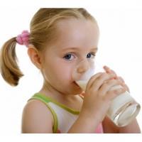le lait et les enfants