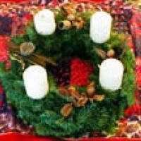 Les différentes couronnes des fetes de Noel