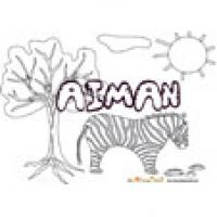 Aimam, coloriages Aimam