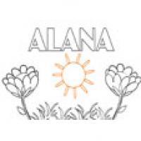 Alana, coloriages Alana