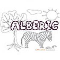 Alberic, coloriages Alberic