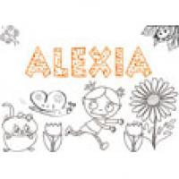 Alexia, coloriages Alexia