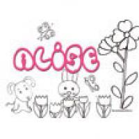 Alise, coloriage Alisé