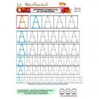 Alphabet : pages d'écriture